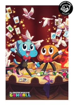 BOOM STUDIOS The Amazing World Of Gumball 2015 Grab Bag #1 Exclusive Cover