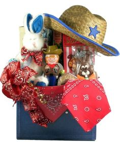 Amazon.com : Gift Basket Village Yeehaw Cowboy Themed Easter Gift Basket