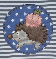 "Freebie Stickdatei ""Igel Igor"" (free embroidery)"