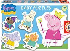 Juegos educativos de Peppa Pig Este es el objetivo de los últimos juegos lanzados al mercado por la marca Educa, unos interesantes juegos educativos donde la protagonista no es otra que el personaje de dibujos animados Peppa Pig,