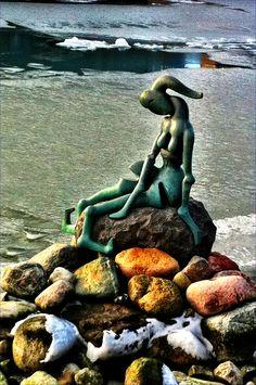 Genetically Modified Mermaid by Bjorn Norgaard, Copenhagen