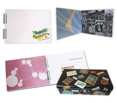 Book para a Mastercard - Edição comemora sucesso de ações promocionais durante a copa do mundo