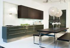#Küche in Grün #Küchenzeile #Designerküche www.dyk360-kuechen.de