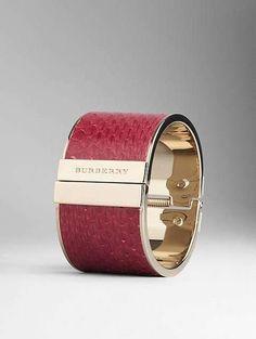 bangle rosso della collezione Burberry gioielli Autunno/Inverno 2013-2014