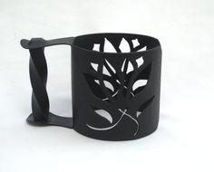 Tulips Mason Jar Travel Mug Handle by MasonJarMakings on Etsy