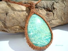Amazonite Beauty - Pear Shape