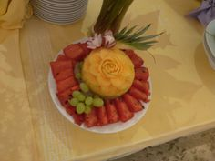 Fruit Dinner, Cake, Desserts, Food, Tailgate Desserts, Deserts, Mudpie, Meals, Dessert