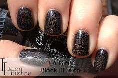 LA Girls Black Illusion