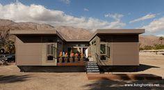 Vivienda prefabricada modular contemporánea - Fuente www.livinghomes.net