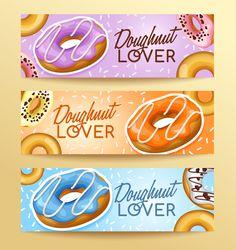 Doughnut banners design vector set 02 - https://www.welovesolo.com/doughnut-banners-design-vector-set-02/?utm_source=PN&utm_medium=welovesolo59%40gmail.com&utm_campaign=SNAP%2Bfrom%2BWeLoveSoLo