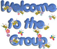 Welcome to the group. We are so glad you joined. <3