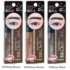 537c2d12e44 NOVO Newest Natural Tattoo Eyebrow Gel Super Lasting For 3 Days Peel Off  Eye Brow Dye Cream Waterproof Long Lasting Tint Make Up-in Eyebrow Enhancers  from ...
