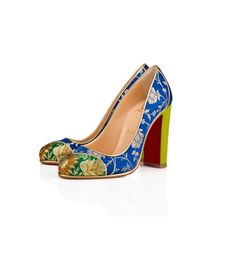 Christian Louboutin Just Created Its Most Fanciful, Over-the-Top Shoes Yet via @WhoWhatWear