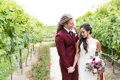 Temecula Wine Country Wedding @ Villa De Amore- vineyards