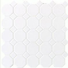 Hexagon and Dot Tile for Floor
