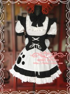Mother cat ears cat maid outfit maid dress women COSPLAY Meng Mother essential - Taobao