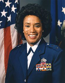 Major General Marcelite J. Harris (born January 16, 1943, Houston, Texas) became the first African-American female general of the United States Air Force.