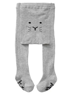 Cat knit tights
