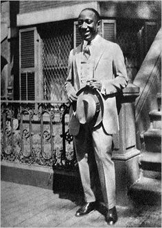 """James P. Johnson-(1894-1955) Known as the """"Father of Stride Piano,"""" he perfected the East Coast style. Every major jazz pianist from the 1920s onward (Fats Waller, Art Tatum, Duke Ellington, Earl Hines, Count Basie, Teddy Wilson, Thelonious Monk) was influenced by him."""