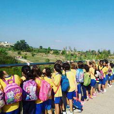 Feliz Día Internacional del Turismo!!! Lo festejamos con una visita guiada por el #parquenaturaldelturia con los alumnos de 1 de primaria del cole Santo Tomás de Aquino de la Canyada #tourism4all #wtd2016