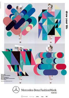 graphicporn:  Rikako Nagashimafor Tokyo Fashion Week