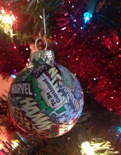 Marvel Super Hero Ornaments on Etsy, $15.00