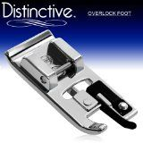 Distinctive Overlock Overcast Sewing Machine Presser Foot - Fits All Low Shank Snap-On Singer*, Brother, Babylock, Viking (Husky Series), Eu. Sewing Machine Presser Foot, Viking Sewing Machine, White Sewing Machine, Sewing Machine Parts, Sewing Machine Reviews, Janome, Bernina Bernette, Sewing Hacks, Sewing Tutorials