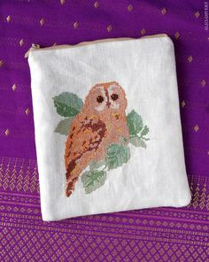 DIY Owl Coin Purse using recycled materials.  Pinned by www.myowlbarn.com