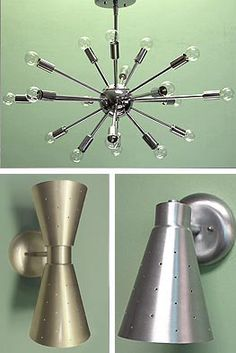 Practical Props 818-980-3198 Double Swivel Cone Sconce IWS22 Practical Props $ 99.00