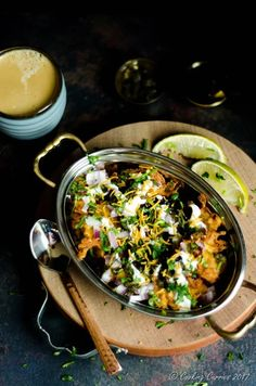 Pakora Chaat - Cooking Curries