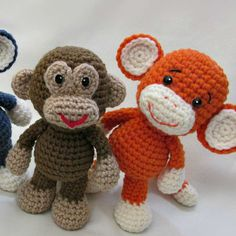 http://wixxl.com/little-bigfoot-monkey-pattern/ Little Bigfoot Monkey Amigurumi