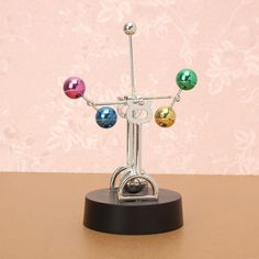 Perpetual Motion Colorful Balls