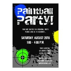 Discount Deals Paintball party invitations | Custom invites Yes I can say you are on right site we just collected best shopping store that have