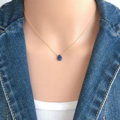 Dancing Diamond Circle Pendant Necklace I-J Color, Clarity), + extender Blue Sapphire Necklace, Diamond Solitaire Necklace, Ruby Necklace, Sapphire Jewelry, Teardrop Necklace, Dainty Necklace, Simple Necklace, Diamond Necklaces, Dainty Jewelry