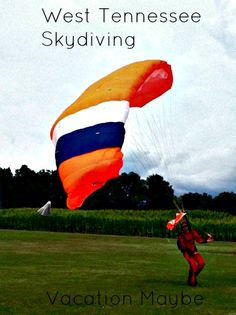 Check out Skydiving in West Tennessee #TravelTips