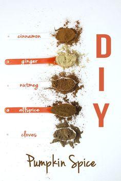 DIY Pumpkin Spice // thehealthymaven.com #recipe #diy
