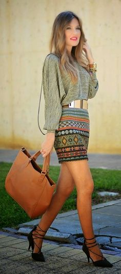 Boho chic fashion for ladies