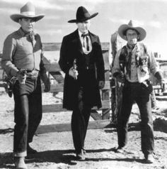 Buck Jones, Tim McCoy, and Raymond Hatton, Rough Riders