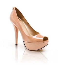 Warning: This lovely Diplille peep toe has stolen my heart at $385. I want one in every color!