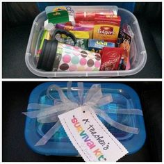 Teacher Survival Kit  (9 do's & don'ts of teacher gifts every parent should know....