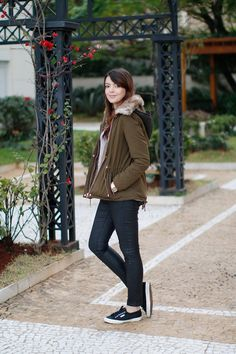 Look do dia: Parka com pelucia - Parka and fake fur http://www.justlia.com.br/2015/07/look-do-dia-parka-com-pelucia/