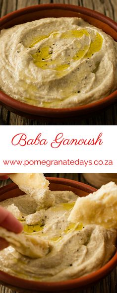 Baba Ganoush is an easy to make summer appetizer, just add fresh flatbreads.  Vegetarian guests will love this recipe for Baba Ganoush, as it calls for you to slightly smoke the eggplant, which adds a new dimension to the flavour.