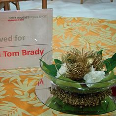 #c2mdesigns #floral  #floraldesign #centerpiece #contemporary #gold #protea #fatsia #fundraiser #corporateevent #event #eventdecor #bestbuddieschallenge #teamtombrady #gordontrack #football #boston #style #designsthatrock #likeC2MdesignsFacebook Designer: #christinemccaffery