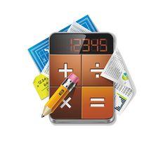 Calculator Illustration - http://freepicvector.com/calculator-illustration/