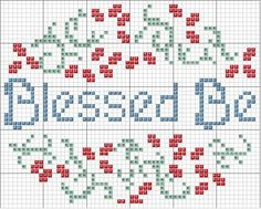 A cute little pattern for a Pagan needlepoint or cross stitch sampler.