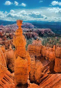Cloud Nodes Photo - Thors Hammer - Bryce Canyon National Park, Utah 528520099968639