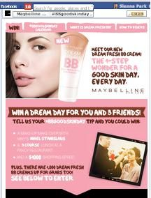 Win A Makeover From Maybelline New York