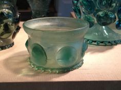 Krautstrunk glass beaker, Germany or The Netherlands, 1480-1510