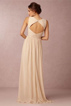 Eloise keyhole back bridesmaid dress