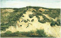 Vincent van Gogh Dunes Painting